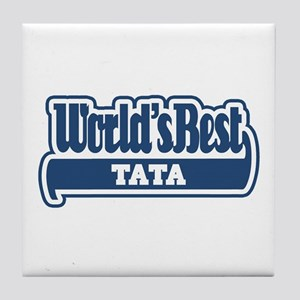 WB Dad [Romanian] Tile Coaster